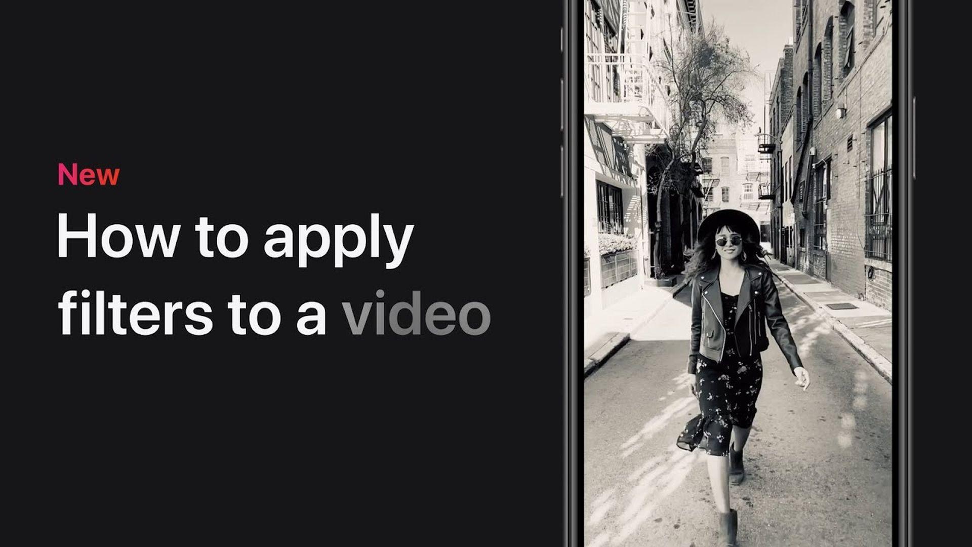 Poradnik Apple: Jak nałożyć filtry na film w iPhonie i iPadzie