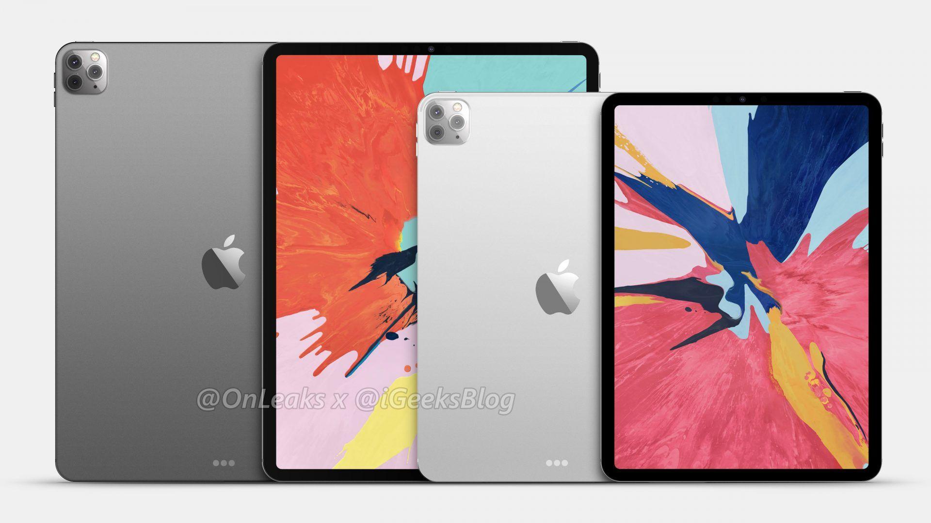 Wizualizacje prawdopodobnego wyglądu przyszłorocznego iPada Pro