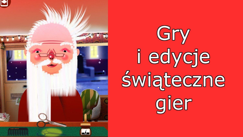 Edycje gier i gry świąteczne z App Store – poczuj klimat!