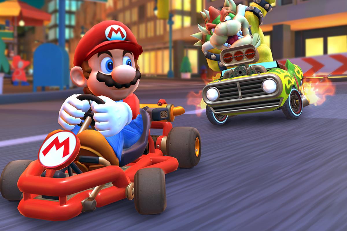 Mario Kart Tour to najczęściej pobierana gra na iPhone'a w 2019 roku!