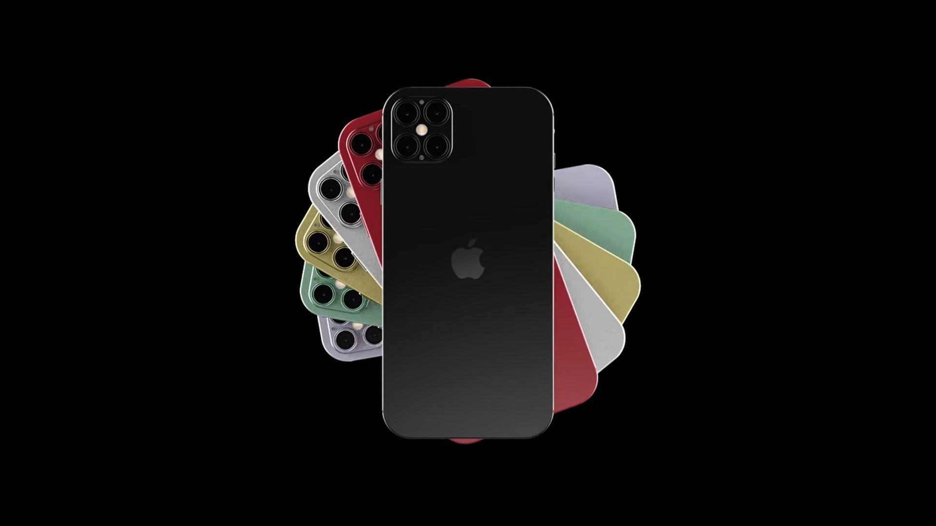Ciekawa koncepcyjna wizja iPhone'a 12 Pro na filmie