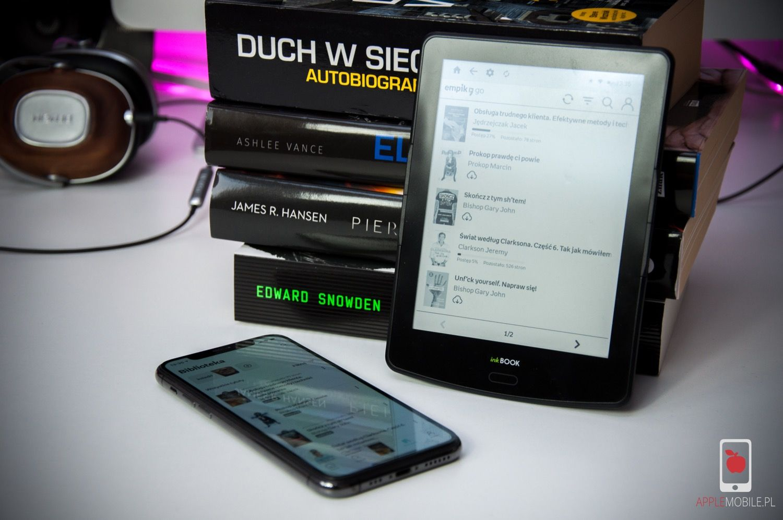 InkBook Prime HD z aplikacjami współpracującymi w iOS. Jak pobierać książki na czytnik inkBook?