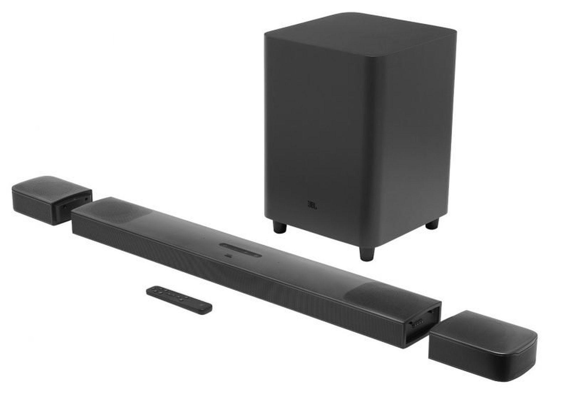 JBL Soundbar z odłączanymi głośnikami oraz AirPlay 2