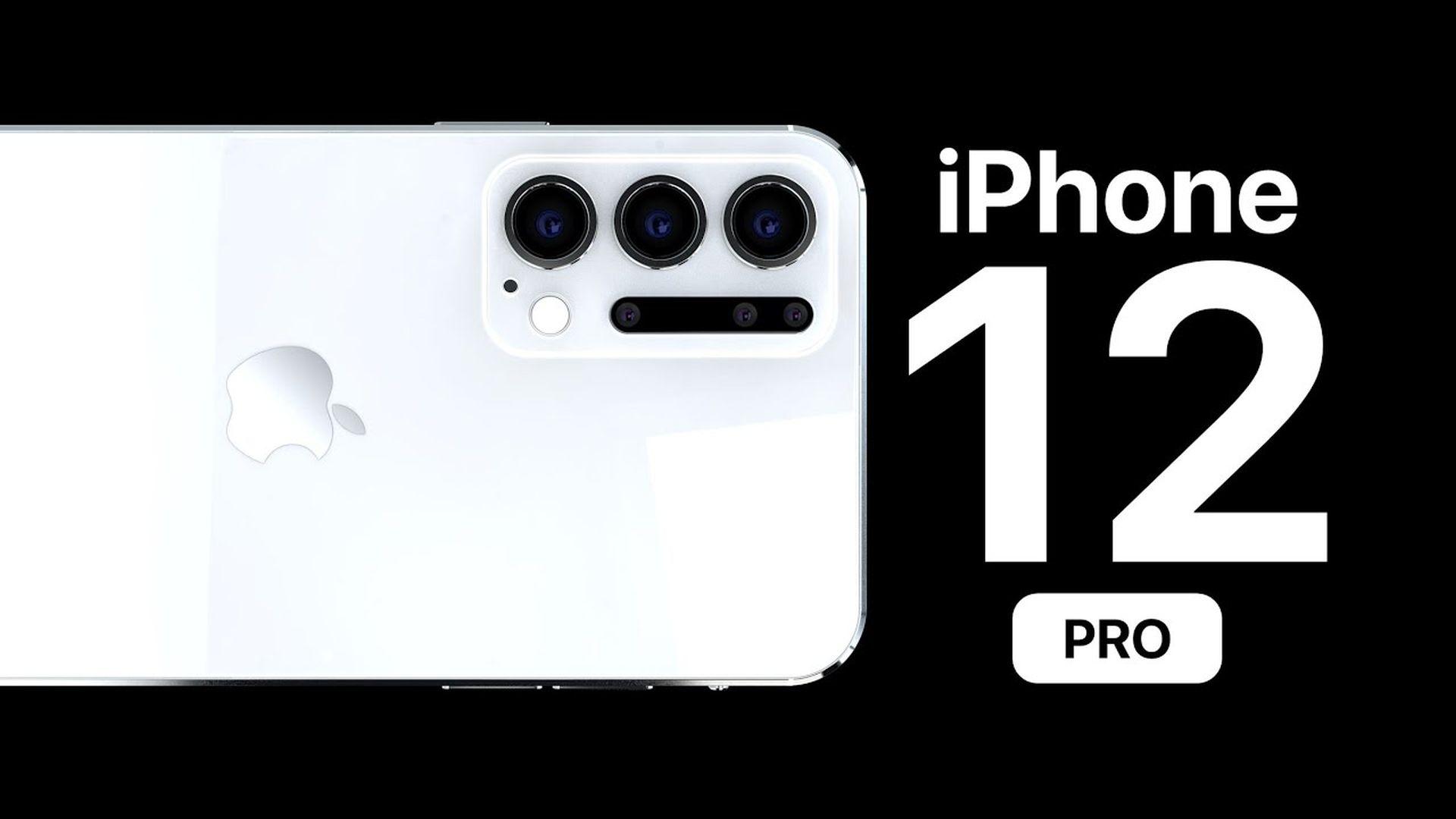 Koncepcyjna wizja iPhone'a 12 Pro Max z aparatem Time Of Flight