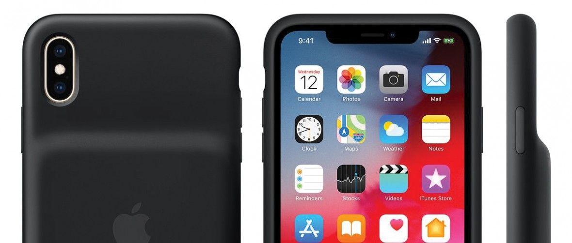 Apple uruchamia program wymiany Smart Battery Case dla iPhone XS/XS Max/Xr