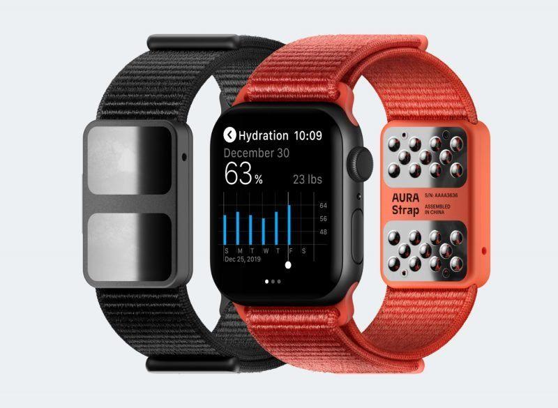 Inteligentny pasek Aura Smart Strap do Apple Watch'a zaprezentowany na targach CES