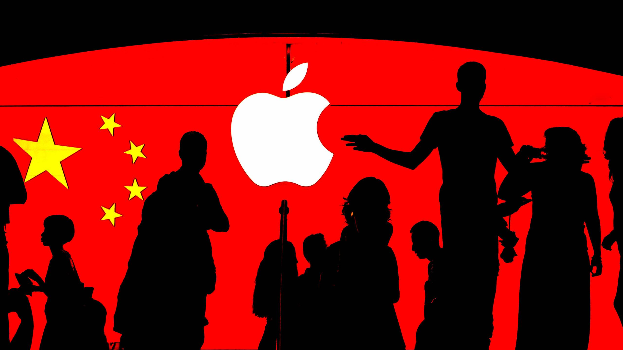 Wzrost sprzedaży iPhone'a na rynku chińskim