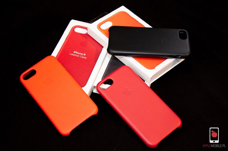 Apple Leather Case dla iPhone 8 i 7 – jeśli skórzane etui Apple, to tylko w oryginale