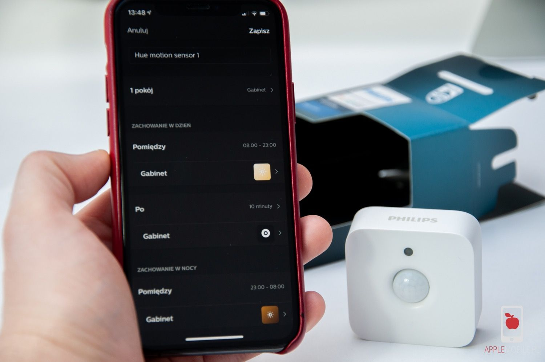 Recenzja Philips Hue Motion Sensor – czujnik ruchu i światła ze wsparciem dla HomeKit