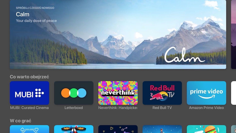 Jak zarządzać aplikacjami na Apple TV