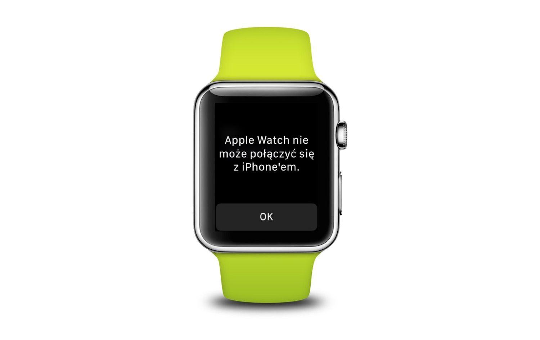 Co zrobić gdy Apple Watch nie łączy się z iPhonem?
