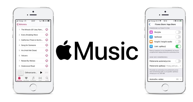 Co zrobić, gdy nie możesz pobrać na iPhone'a muzyki z Apple Music?
