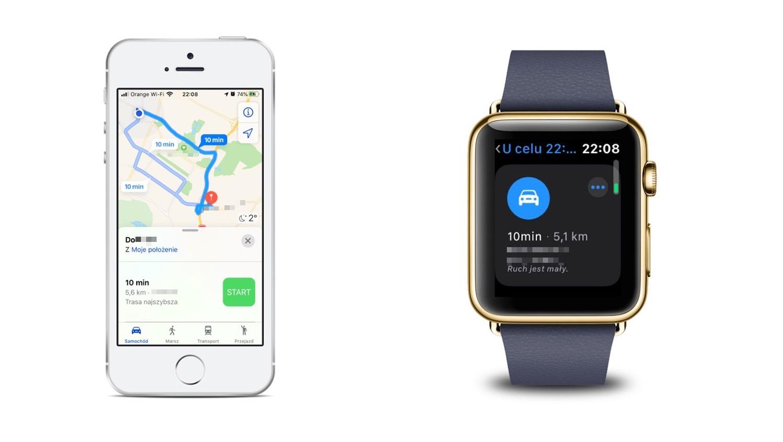 Jak używać Apple Watch do nawigacji
