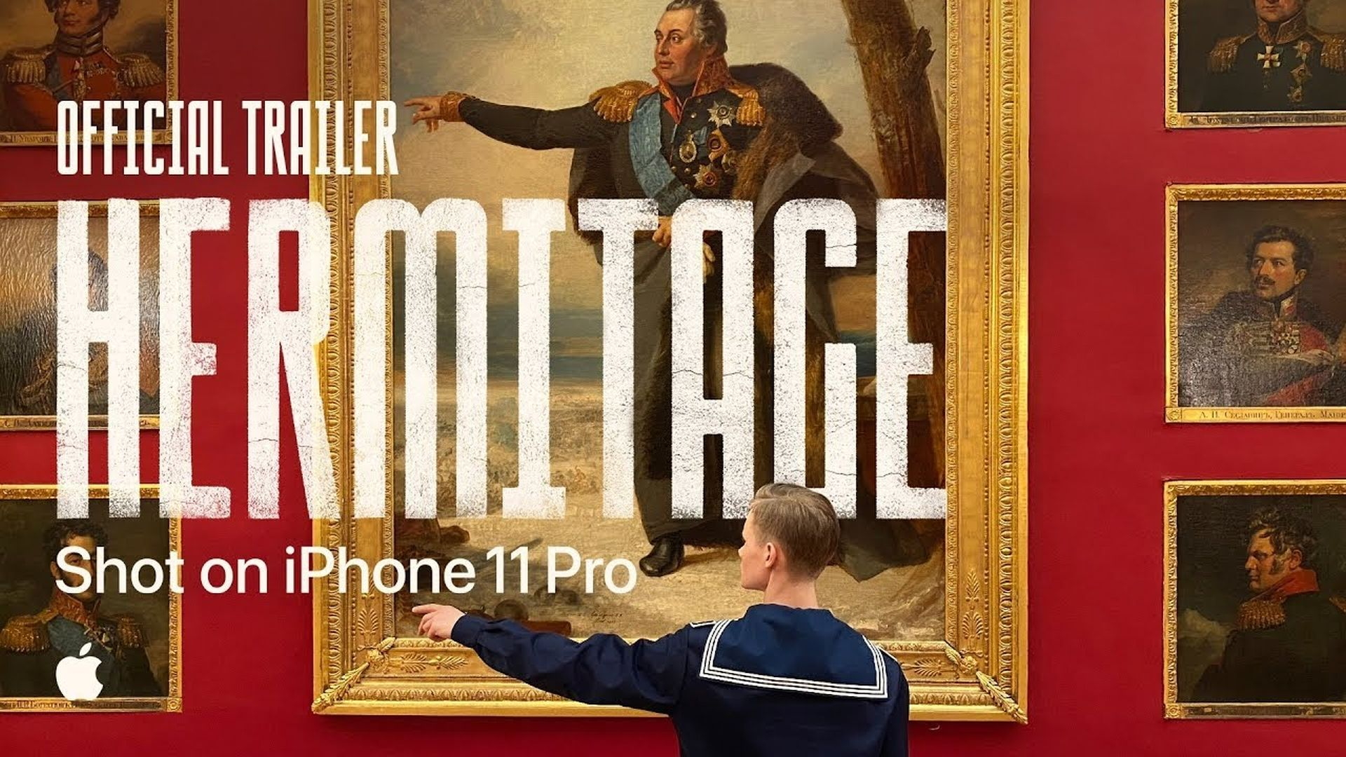 """Film z galerii Ermitaż w Petersburgu jako reklama z serii """"Shot on iPhone"""""""