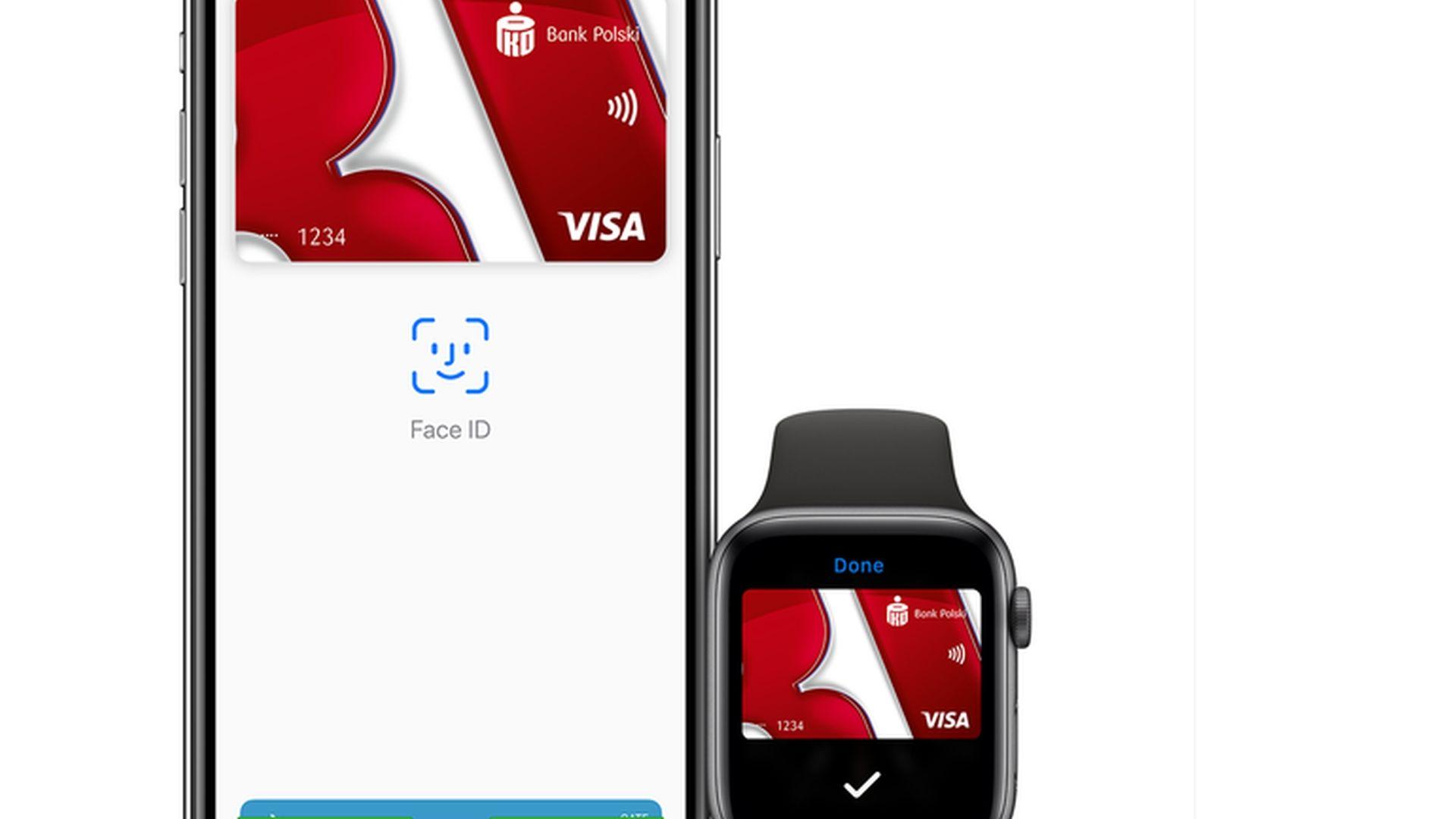 Firmowe karty PKO BP z Apple Pay z pewnymi wyjątkami