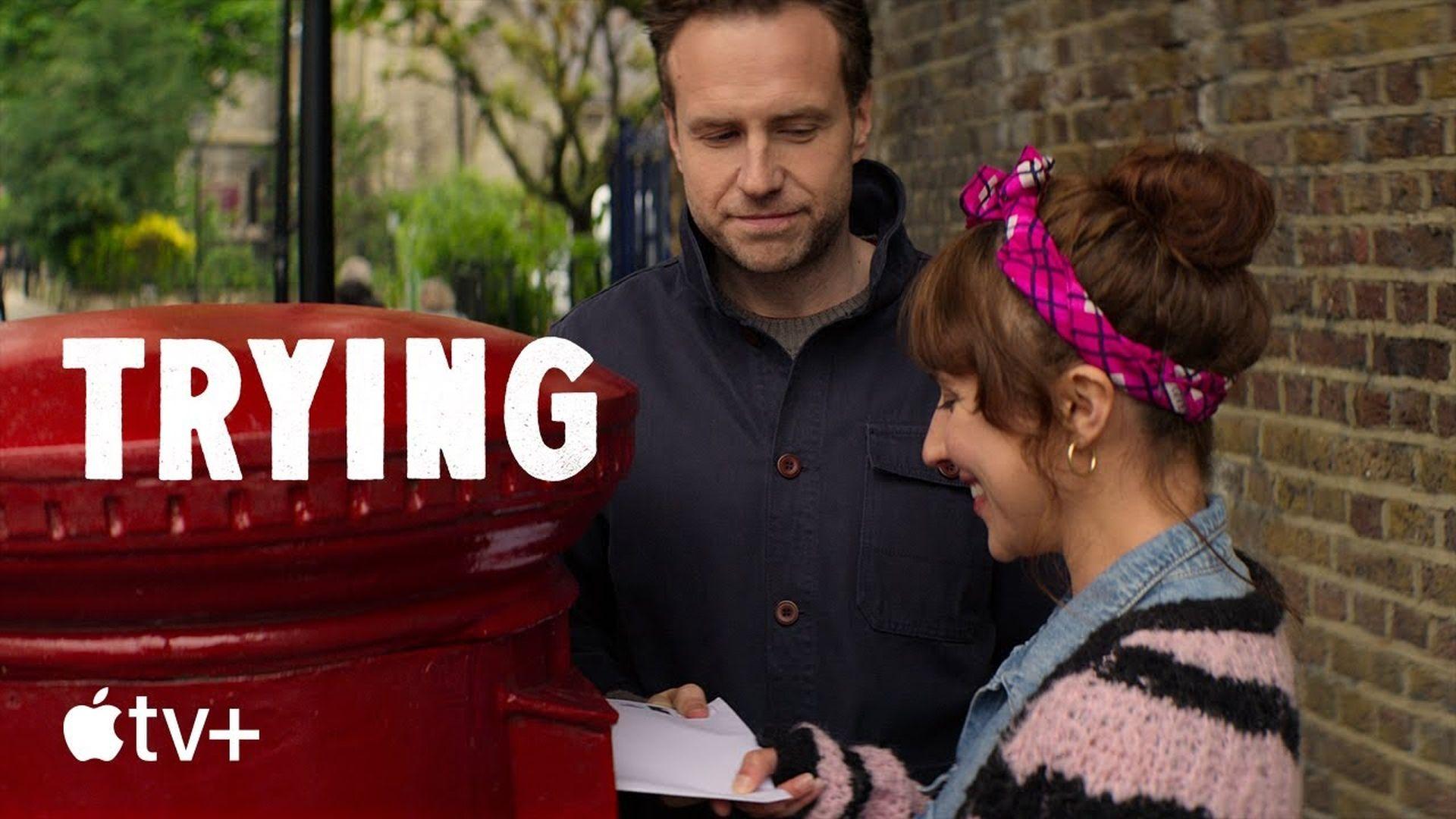 """Trailer nowego brytyjskiego serialu """"Trying"""" w serwisie YouTube"""