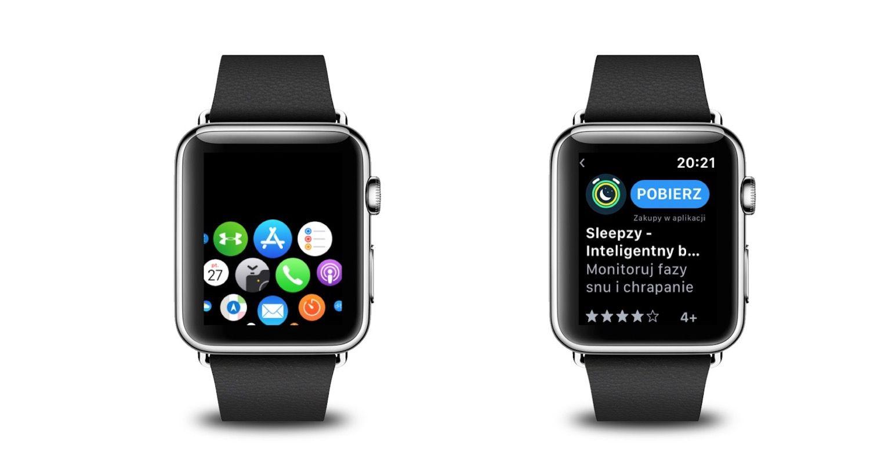 Jak używać App Store dla Apple Watch