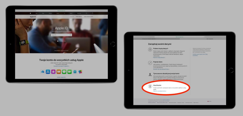 Jak skasować na stałe konto Apple ID