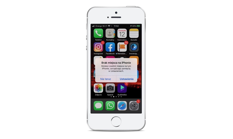 5 prostych sposobów na odzyskanie miejsca w pamięci iPhone'a