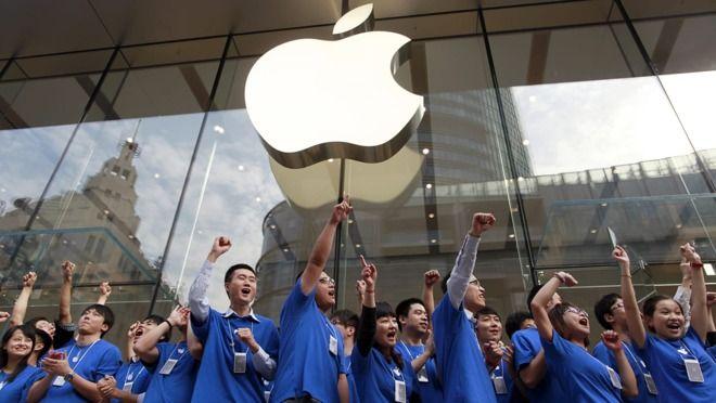 Marcowa sprzedaż smartfonów Apple w chinach w porównaniu z lutym to ogromny wzrost