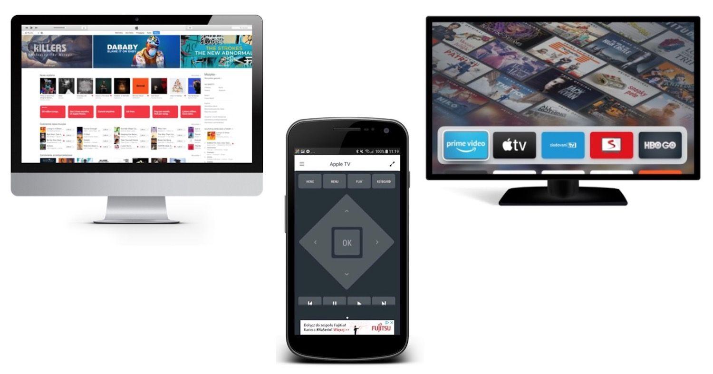Jak obsługiwać iTunes i Apple TV przy pomocy Androida