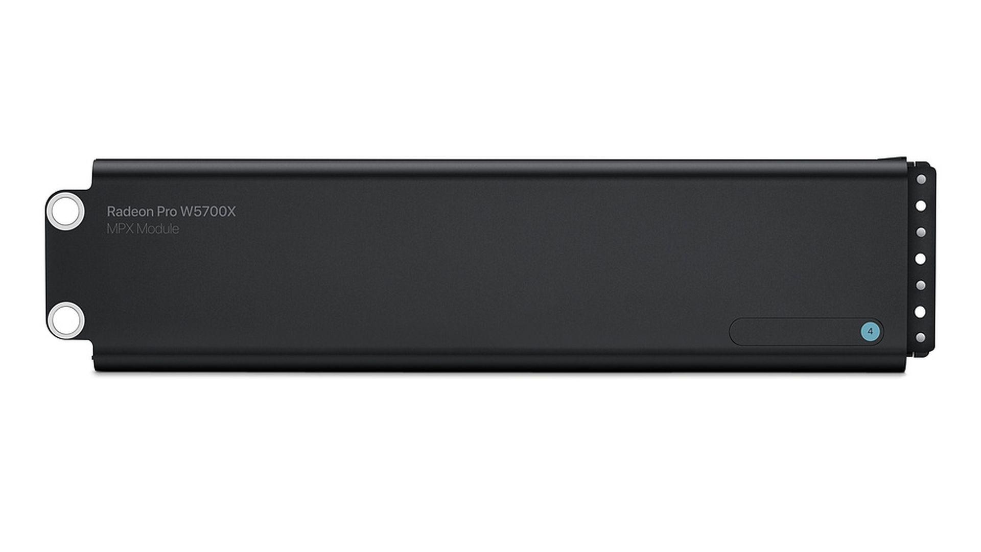 Moduł MPX Radeon Pro W5700X dostępny w sklepie Apple