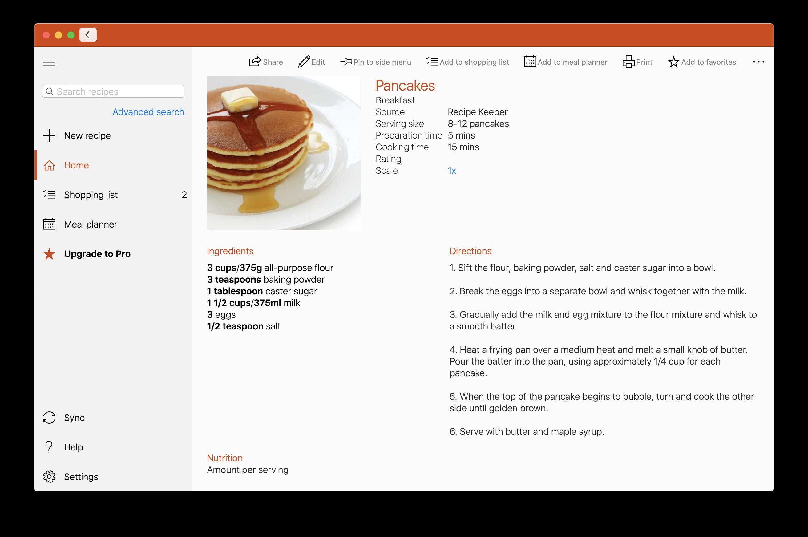 Recipe Keeper dla macOS – od dziś gotowanie może być prostsze!