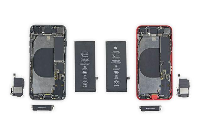 Niektóre części z iPhone'a 8 można użyćw nowym iPhonie SE