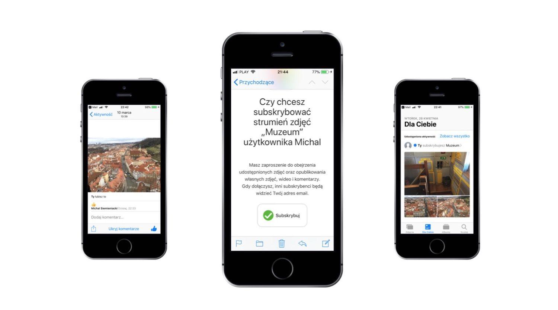 Jak udostępnić zdjęcia z iPhone'a rodzinie i znajomym
