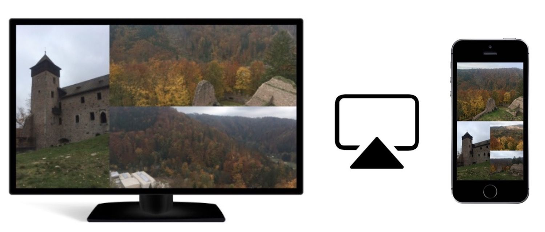 Jak zrobić prezentację zdjęć na dużym ekranie przy użyciu iPhone'a i AirPlay