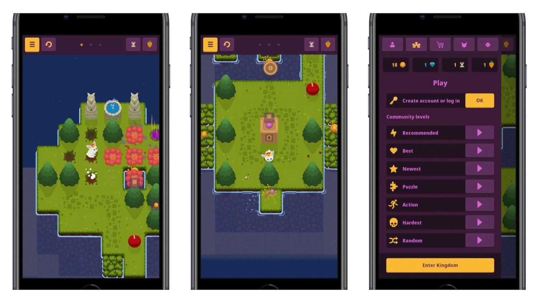 Darmowa gra logiczna z królem królikiem w roli głównej, czyli opis King Rabbit prosto z App Store!