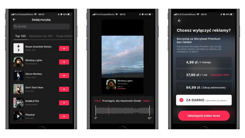 #46 Aplikacja tygodnia – Storybeat, czyli sposób na muzyczne Story na Instagramie!