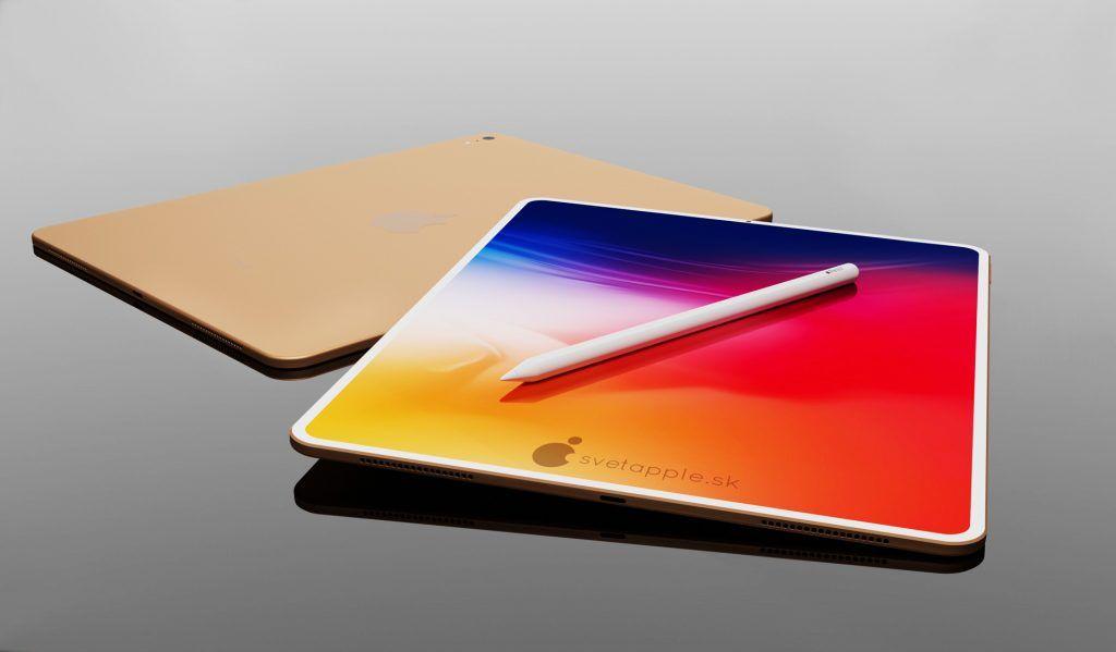 Koncepcyjna wizja wyglądu nowego iPad Air z Touch ID w ekranie