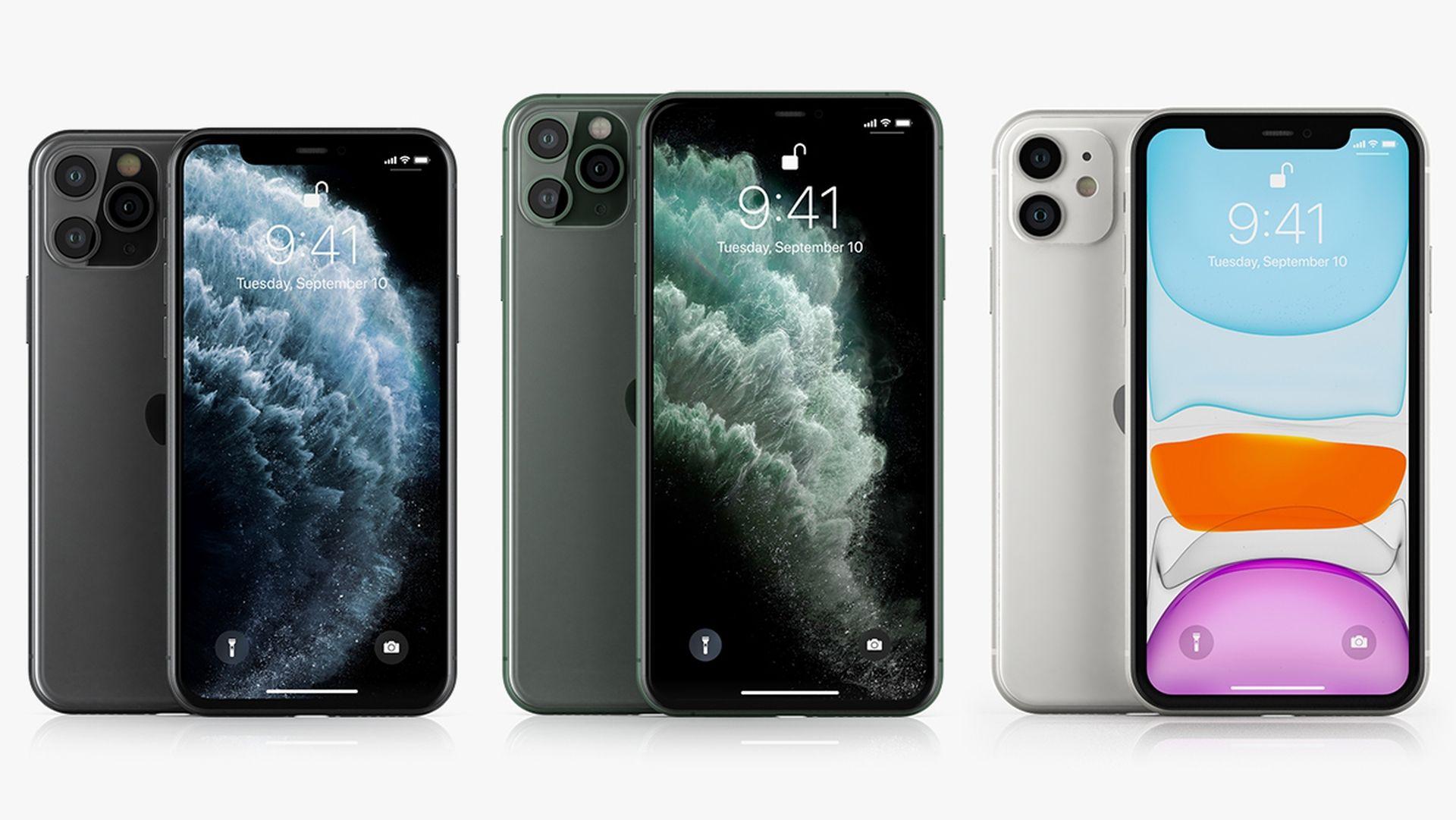 Dywersyfikacja produkcji iPhone'ów wykonana przez firmę Apple
