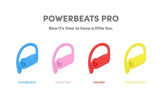 Słuchawki Powerbeats Pro mogąpojawićsięw czterech nowych kolorach!