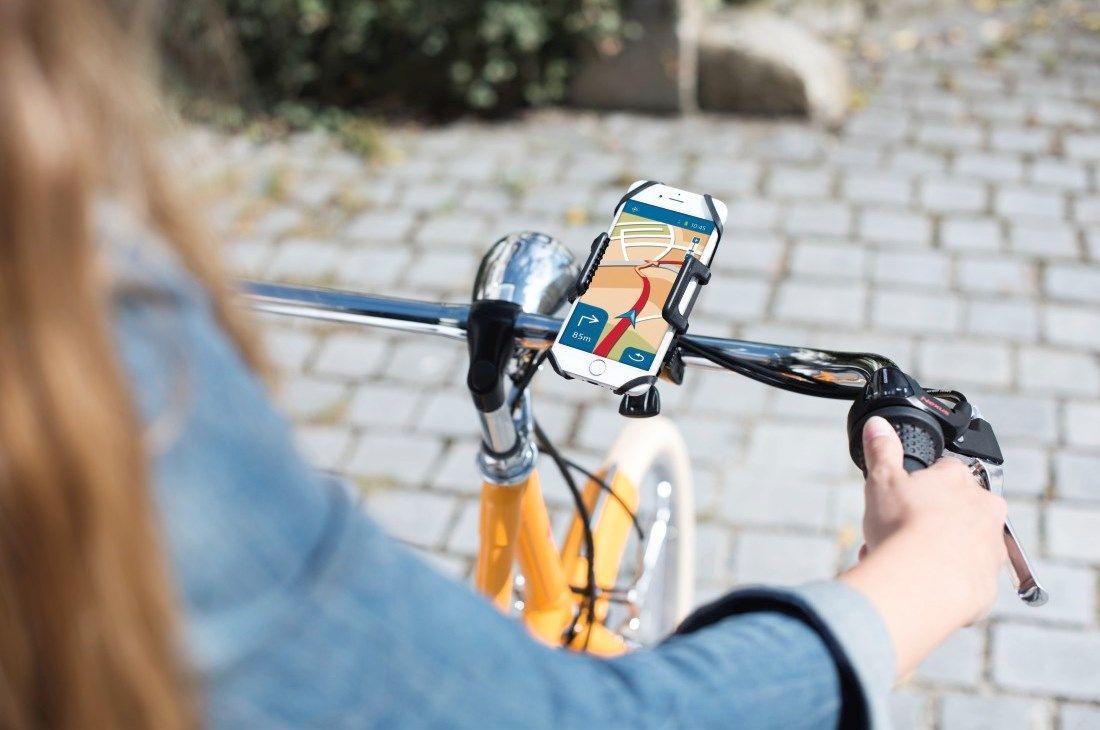 Ze smartfonem na rowerze, czyli nowy uchwyt od Hamy!