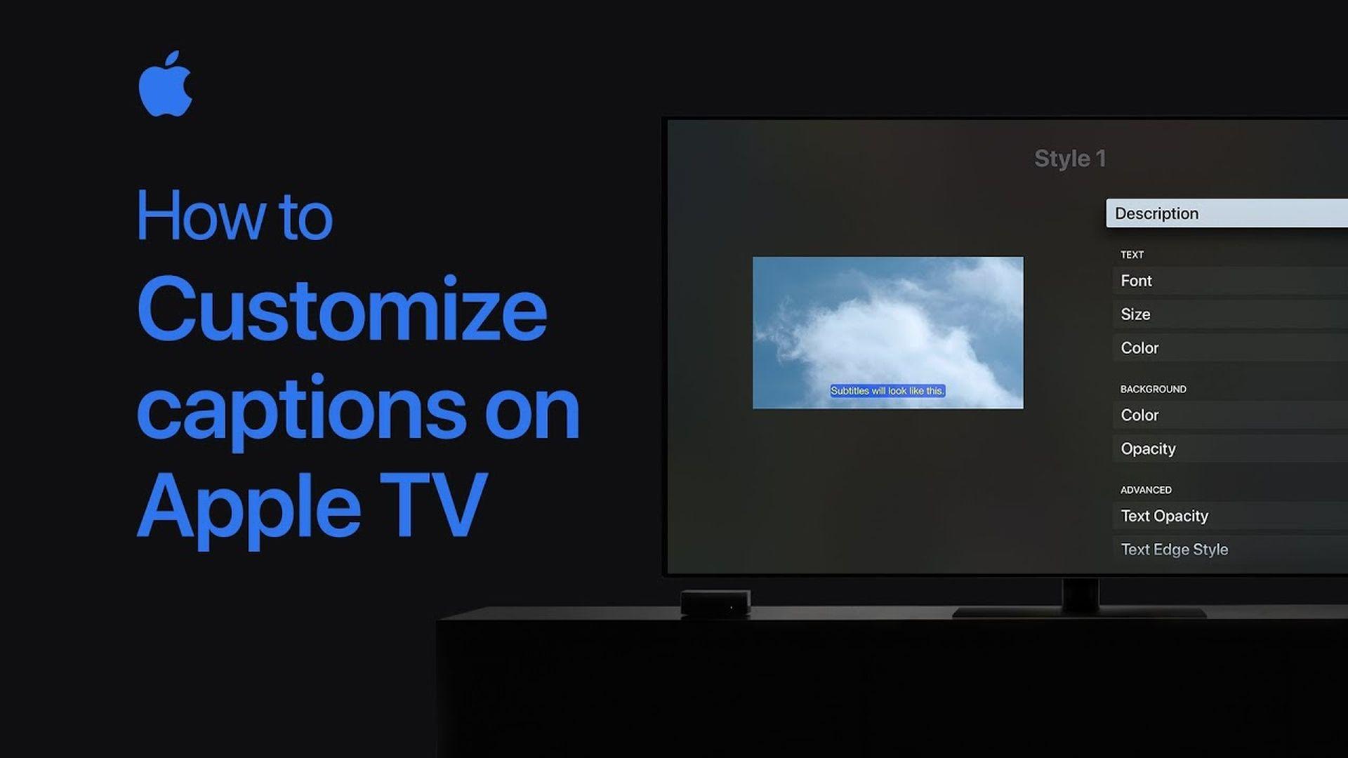 Poradnik Apple: Jak dostosować napisy w Apple TV