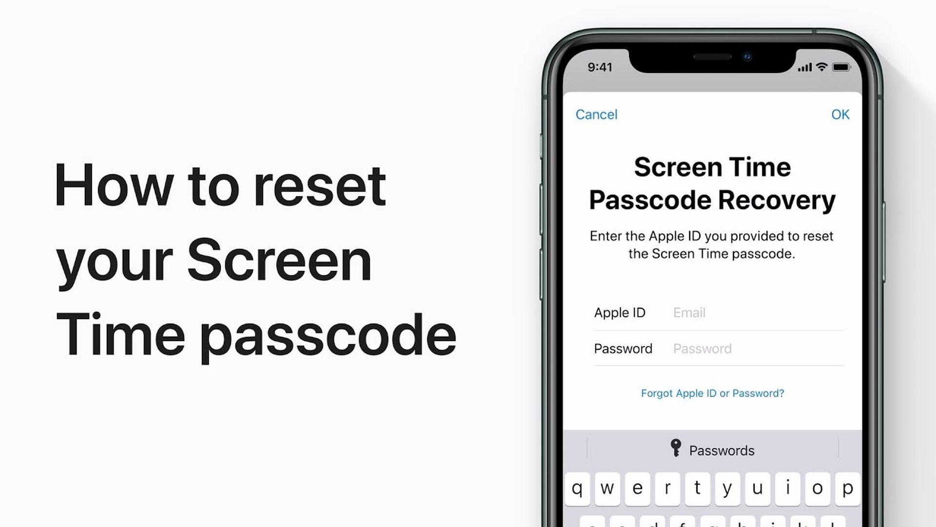 Poradnik Apple: Jak zresetować hasło funkcji Czas przed ekranem