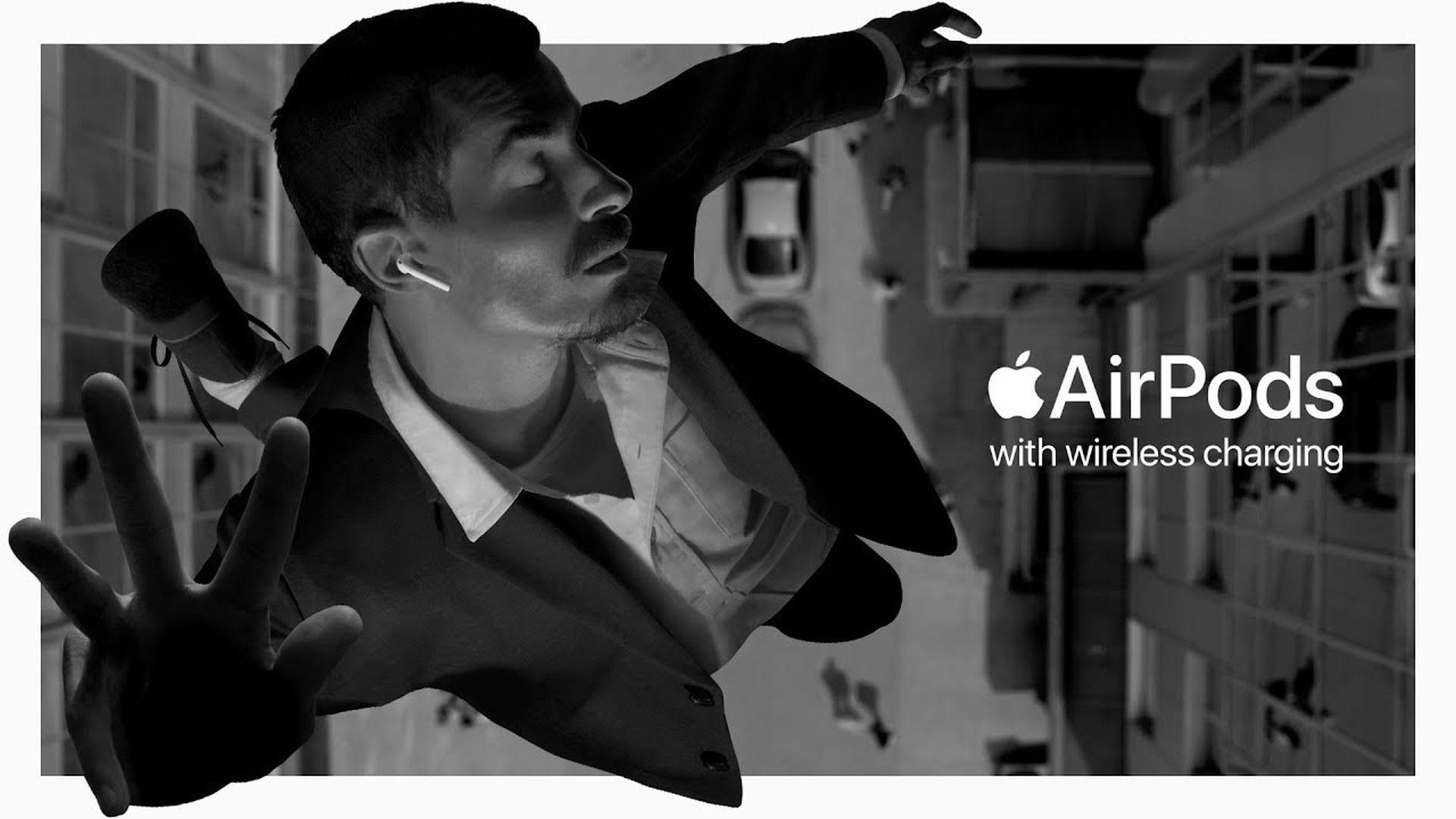 """Reklama AirPodsów """"Bounce"""" wygrała nagrodę """"Best of Advertising"""""""