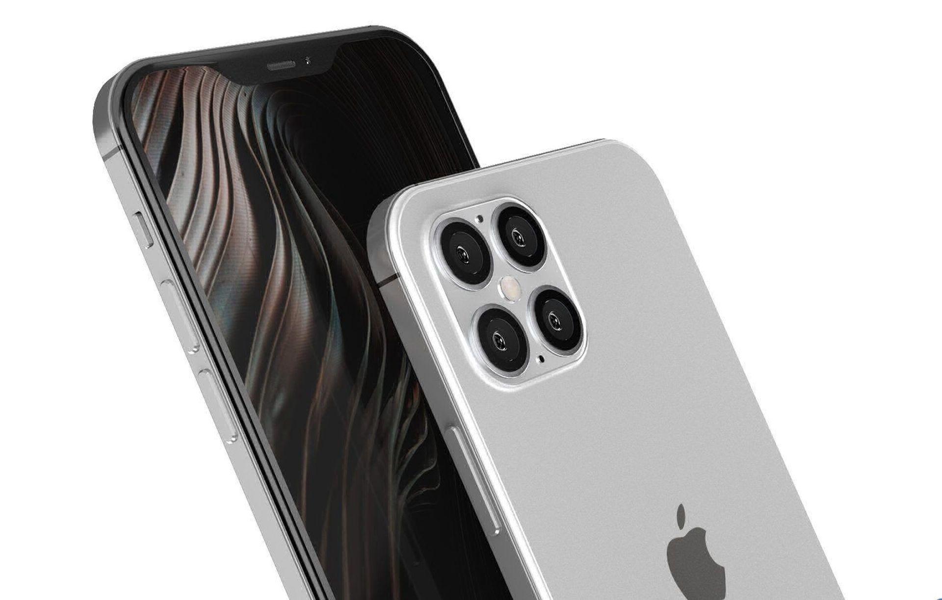 Ustawienia systemowe iPhone'a 12 Pro na zrzutach ekranu