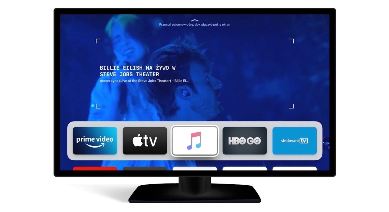 Jak używać aplikacji Muzyka dla Apple TV