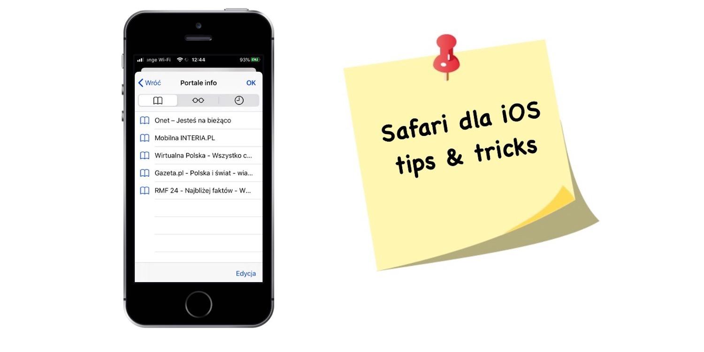 Jak dodawać, edytować i usuwać zakładki w Safari dla iOS