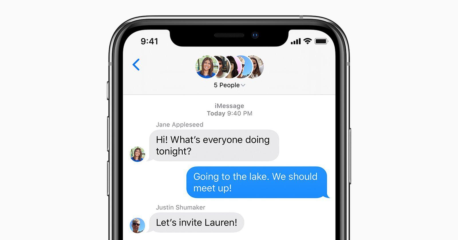 iMessage i FaceTime odnotowały rekordową liczbę użyćw drugim kwartale