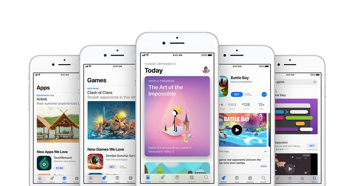 Masz kilkadziesiąt niezaktualizowanych aplikacji w AppStore? Spokojnie, nie tylko ty!