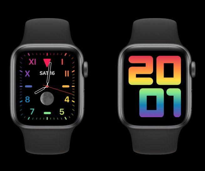 """Apple udostępniło kilka nowych opcji tarcz dla Apple Watch'a z okazji """"Pride Watch"""""""