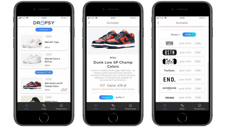 #48 Aplikacja tygodnia – Dropsy. Zgarnij świetne buty za niewiele!