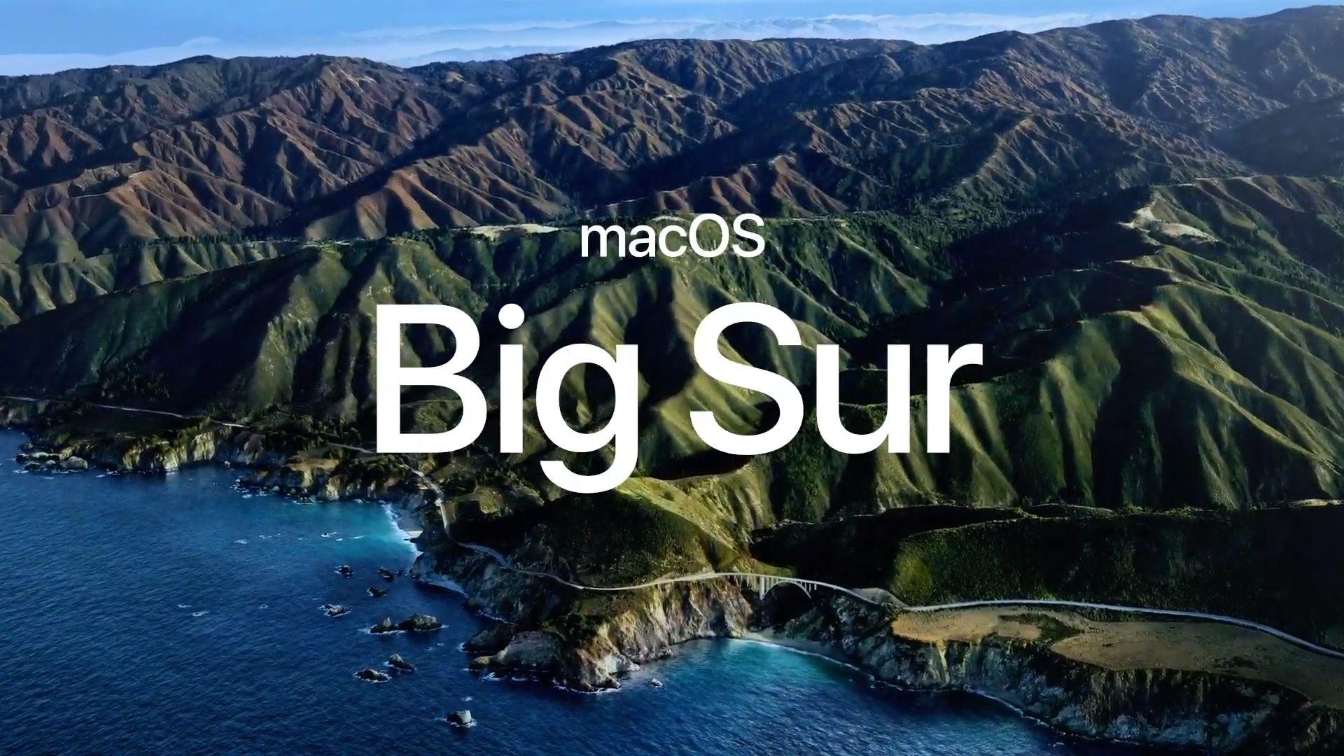 System macOS Big Sur będzie oficjalnie dostępny już jutro