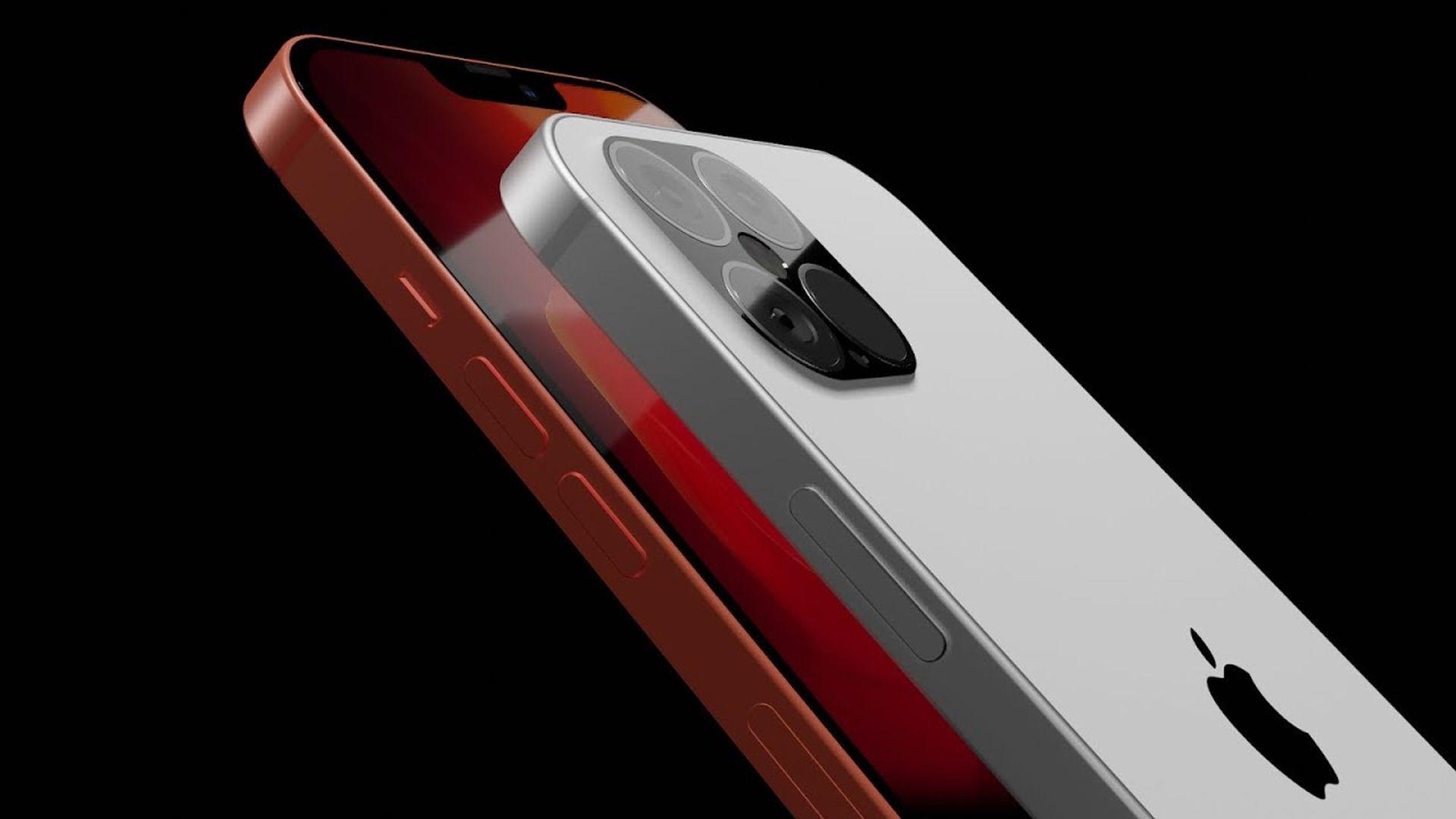 Koncepcyjna wizja wyglądu iPhone'a 12 Pro na filmie