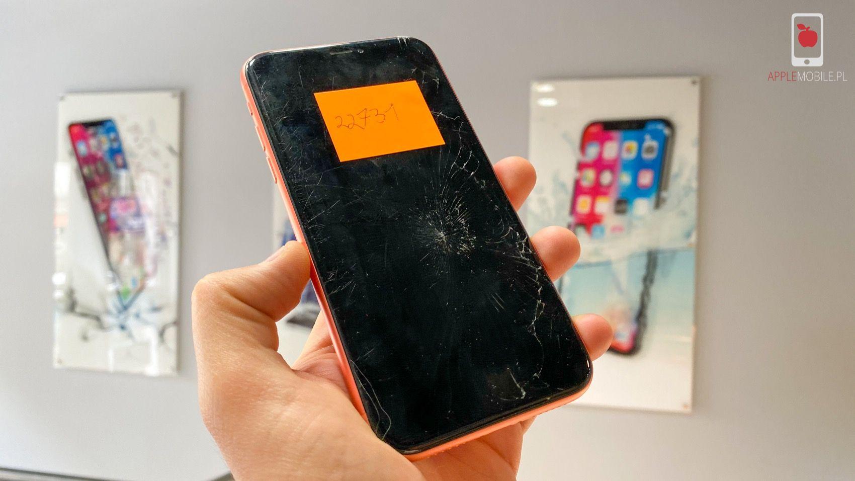 Wymiana szybki iPhone Xr i inne