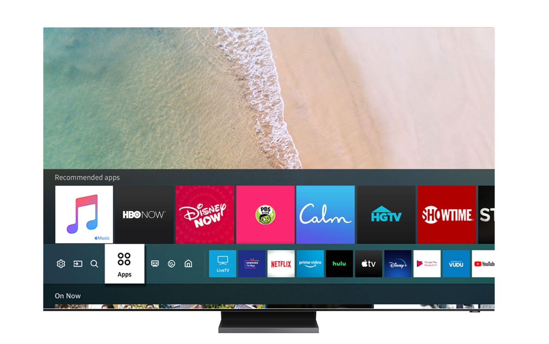 Aplikacja Apple Music z tekstami utworów w telewizorach Samsunga